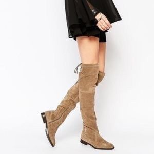 New XOXO TRISH Brown Boots 7.5 Street Style Chic